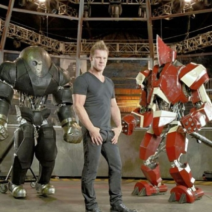 "Chris Jericho hosts ""Robot Combat League"" on Syfy."