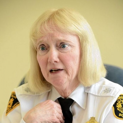 Acting police Chief Regina McDonald