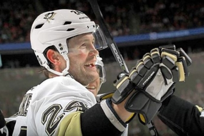Penguins winger Matt Cooke drew the ire of Ottawa star Erik Karlsson at a news conference Friday. Karlsson is out for the season after his Achilles was slashed by Cooke's skate.