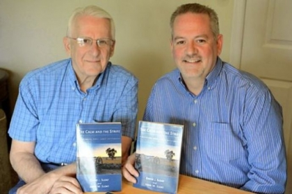 "John W. Sloat and his son David J. Sloat have written a Civil War novel, ""The Calm and the Strife,"" which culminates at the Battle of Gettysburg."