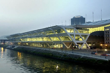 The David L. Lawrence Convention Center, along the Allegheny River in Downtown Pittsburgh, is once again the site of the Pittsburgh Home & Garden Show.