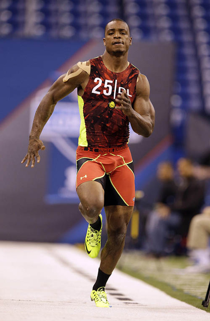 NFL Combine: Mixed bag of edge rushers stand out
