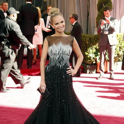 Kristin Chenoweth was a 2013 addition to ABC's red-carpet coverage of the 85th Academy Awards.