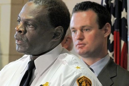 Mayor Luke Ravenstahl had stood behind Nate Harper as recently as Tuesday. But after being interviewed by FBI investigators Wednesday, he said, &quot;I learned enough to know that it was time to ask Chief Harper to resign.&quot;