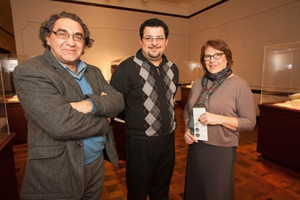 Davoud Rad, Adam Razipour and Joan Guerin.