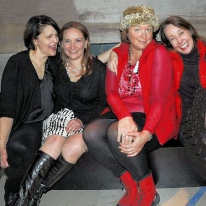 Lisa Simone, Desiree Soteres, Dana Fruzynski and Susan Zickmund.