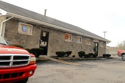 The Cozy Inn parking lot, off Route 22 in Murrysville, where a murder-suicide took place Saturday.