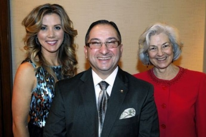 Susan Klaich, Tony Harb and Ellen O'Brien.