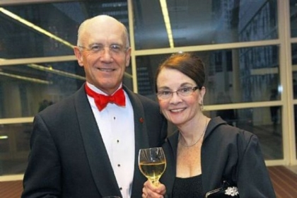 Dr. Don Fischer and Judge Nora Barry Fischer.