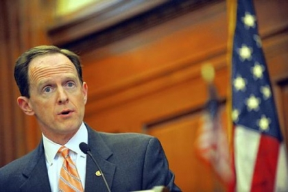 Sen. Pat Toomey, R-Pa., helped author a bill that would allow the spending cuts to take place, but would give the president authority to direct how and where cuts would be made.
