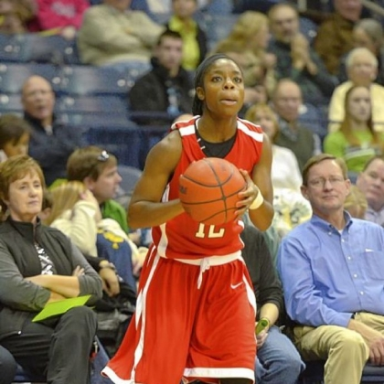 Ambridge grad Kiara Brown is an All-American at Edinboro.