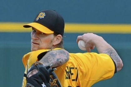 Pirates right hander A. J. Burnett had a new workout routine.