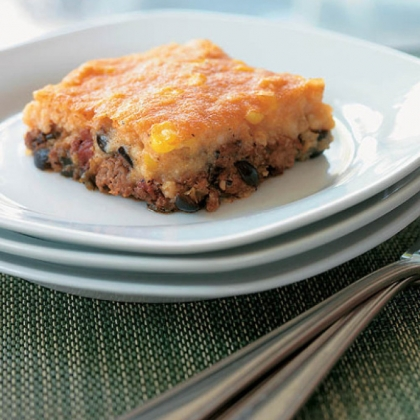 "The Potluck-perfect Tamale Pie from Make-Ahead Meals Made Healthy"" by Michele Borboa."