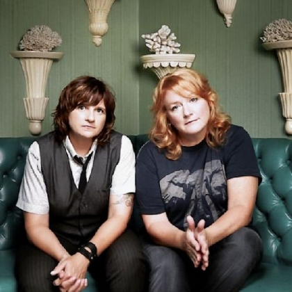 The Indigo Girls -- Amy Ray and Emily Saliers -- will bring a full band to the Byham on Sunday night.