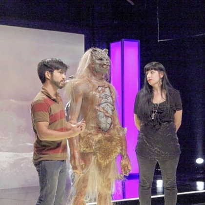 """Pittsburgh's Autumn Cook and Savini School grad Eric Zapata landed in the bottom two of Syfy's 'Face Off' when their outerspace werewolf failed to impress."""