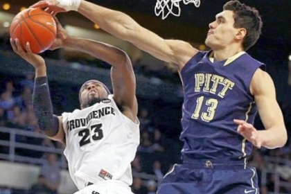 Pitt center Steven Adams' status for today's game against Villanova is in doubt.