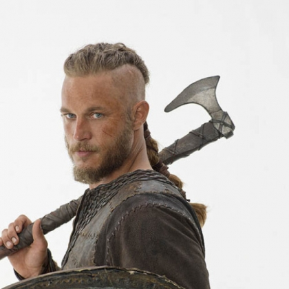 "History's new scripted series ""Vikings"" debuts March 3. Travis Fimmel stars as Ragnar Lothbrok."