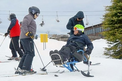 The Wounded Warriors get ready to tackle the slopes at Seven Springs.