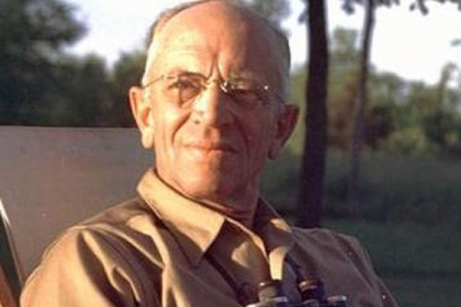 "Aldo Leopold: ""Like winds and sunsets, wild things were taken for granted until progress began to do away with them. Now we face the question whether a still higher 'standard of living' is worth its cost in things natural, wild and free."""