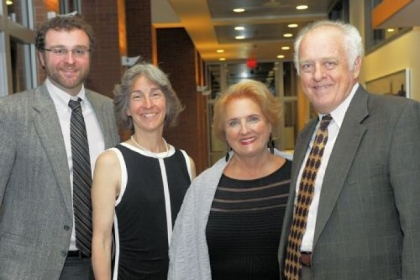 From left: Kevin Heher, Rita McGill, Joanne Spink and John Heher.