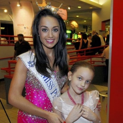 Miss Pennsylvania 2012 Jordyn Colao with Maddie Sinclair, 8.