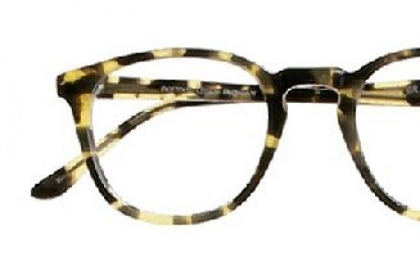 1980s-inspired Graduate style in Tokyo Tortoise from the Norman Childs eyewear collection.