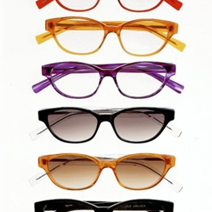 Julie Jubelirer eyeglass styles from the Norman Childs eyewear collection, $365.