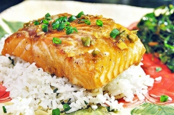 What's for Dinner: Sweet and Salty Salmon