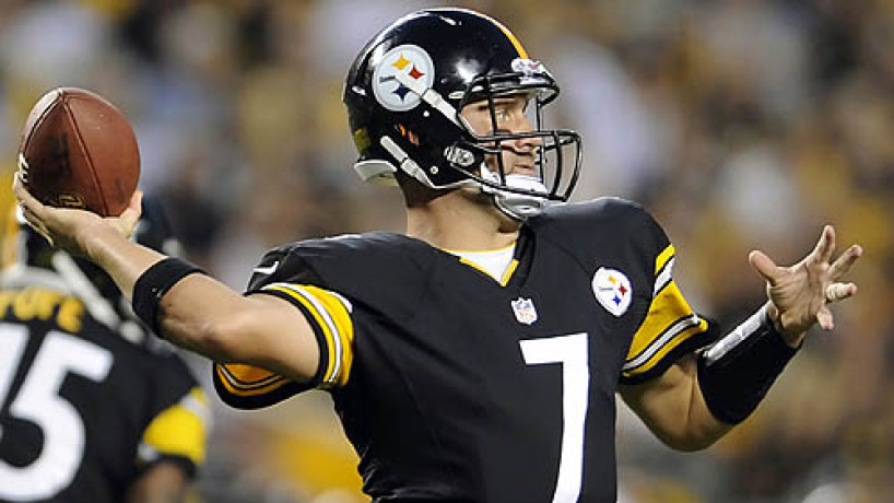 Big Ben upbeat despite changes in Steelers lineup