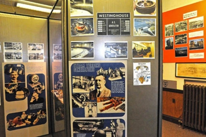 The Westinghouse Museum in the Westinghouse Castle is filled with memorabilia from George Westinghouse&#039;s companies.