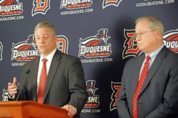 Duquesne takes steps to be 'earners' in post-realignment landscape