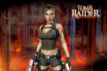 Old Lara Croft in 'Tomb Raider.'