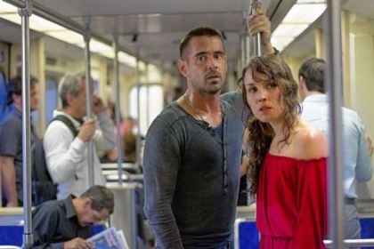 "Colin Farrell and Noomi Rapace star in ""Dead Man Down."""
