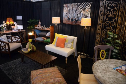 "This is a design with the theme ""The power of color"" done by American Society of Interior Designers member Lorraine Linkhauer at the Pittsburgh Home and Garden Show."