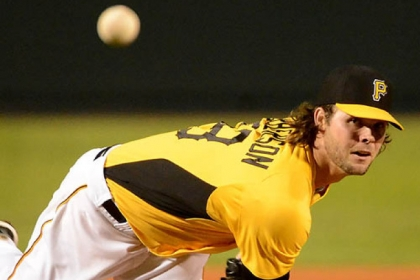 Pirates pitcher Kyle McPherson delivers against the Orioles Friday night.