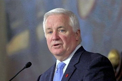 "Gov. Tom Corbett, like his three predecessors, has ""strong ties to the natural gas industry."""