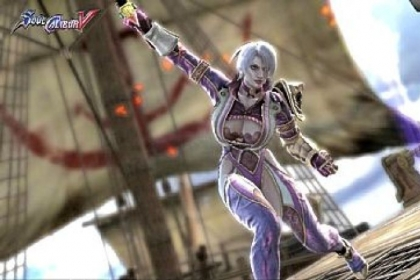 "The ""SoulCalibur"" games are famous for hyper-sexualized female characters."