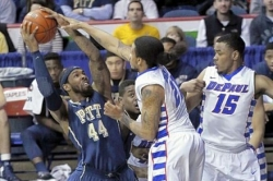 Pitt eclipses Big East shooting record in regular-season finale
