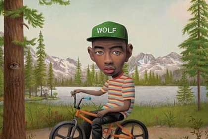 "Tyler, The Creator's third album ""Wolf,"" is to be released April 2."