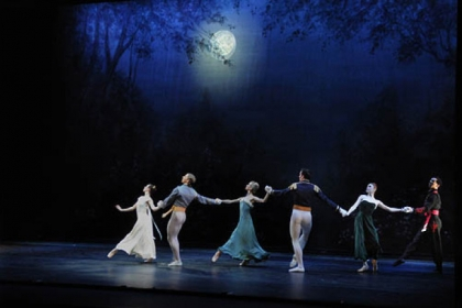 "Pittsburgh Ballet Theatre performs ""Lilac Garden"" by Antony Tudor in its mixed repertory program ""Unspoken"" at the August Wilson Center, Downtown."