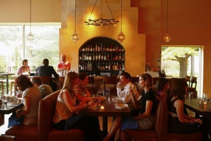 Zahav (237 St. James Place, Philadelphia) serves up Middle Eastern flavors, including laffa from a wood-burning oven.