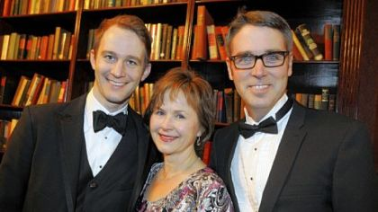 Chatham Baroque members Andrew Fouts, Patricia Halverson and Scott Pauley.