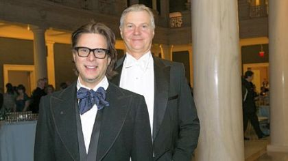 Ron Booth and Christopher Hahn, Pittsburgh Opera general director