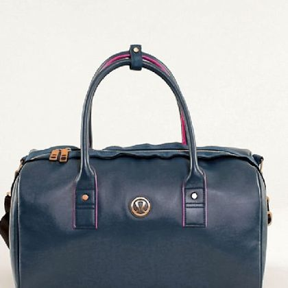 Daily Om Duffel, $128 at lululemon athletica, www.lululemon.com.