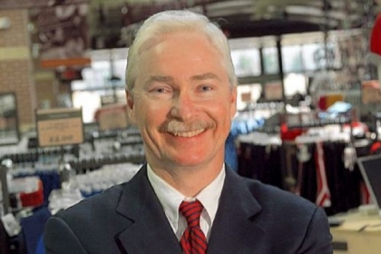 Edward W. Stack, Dick's CEO and chairman