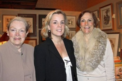 Co-chairs Jan Shoop, Diana Thompson and Joan Stewart.