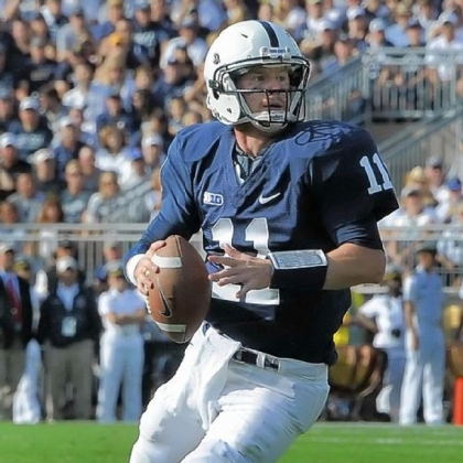 Quarterback Matt McGloin, a walk-on who eventually won the starting job at Penn State, prepared in Los Angeles before working out for NFL scouts Monday at Penn State&#039;s pro day. As typical of McGloin, he said he isn&#039;t worried numbers: &quot;It only takes one team to fall in love with you.&quot;
