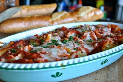 What's for Dinner: Stuffed Shells with Chunky Tomato Sauce
