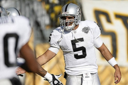 File of Bruce Gradkowski, when he played for the Raiders