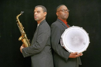 Saxophonist Steve Wilson, left, and drummer Lewis Nash will be recording their performance  at Manchester Craftsmen's Guild this weekend.